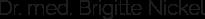 Praxis Dr. med. Brigitte Nickel Logo